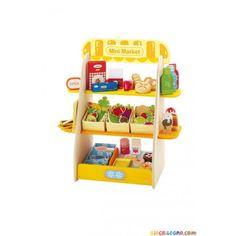 SEVI mini-market - Giochi e giocattoli in legno