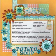 Layout: Recipes - Deb's Potato Soup