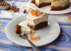 Mrkvový cheesecake Cheesecake, Food Inspiration, Pudding, Sweet, Pizza, Cupcakes, Blog, Candy, Cupcake Cakes