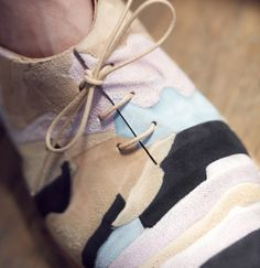 Geology of Shoes by Barbora Veselá