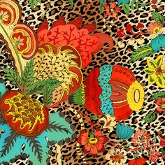 I uploaded new artwork to plout-gallery.artistwebsites.com! - 'Floral Leopard-jp3732' - http://plout-gallery.artistwebsites.com/featured/floral-leopard-jp3732-jean-plout.html
