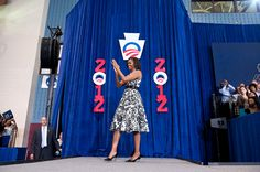 """""""Remind folks that Barack ended the war in Iraq, passed historic health care reform, and stood up for our most basic, fundamental rights again and again and again.""""—First Lady Michelle Obama, Philadelphia, PA, August 9, 2012"""