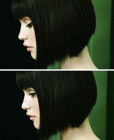 Δυναμικά μαύρα καρέ μαλλιά!!!
