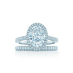 Engagement ring option... Tiffany Soleste® Oval