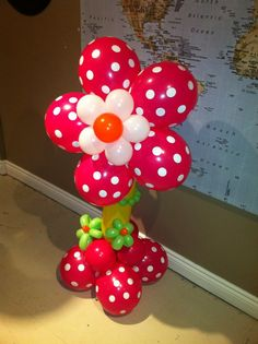 Blossom Balloon Pillar