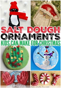 Making salt dough ornaments is a great way to spend some time crafting with your kids this holiday season and they last for years!