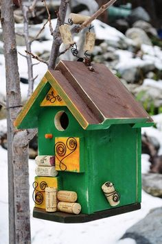 Birdhouse Signature Designer Birdhouses by BirdhousesByMichele,