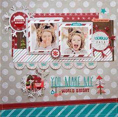 Love The Journey: My Layouts In the November 2014 Fancy Pants Designs Newsletter