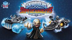 Skylanders SuperChargers Dark Editions Screens + Details