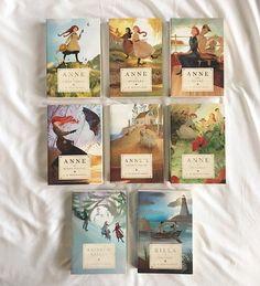 Tundra Books Anne of Green Gables Set — Bluestocking Bookshelf I Love Books, Good Books, My Books, Book Club Books, Anne Of Green Gables, Anne With An E, Anne Shirley, Book Aesthetic, Classic Books