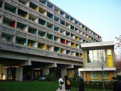 Le Corbusier & Lucio Costa- Maison du Brésil, Paris, 1954