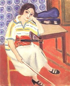 Matisse Woman with a Violin 1921