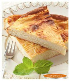 Glutenfreie Dresdner Eierschecke! Feiner Hefeteig mit köstlich, saftigem Belag! www.rezepte-glutenfrei.de #sweetmasterpieces