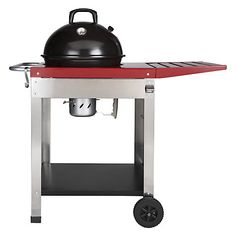 Buy John Lewis Deluxe Trolley Kettle Charcoal Barbecue, Dia.47cm Online at johnlewis.com