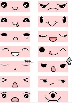 Kawaii expressions  MyKawayCrate.com