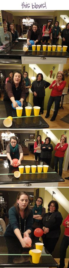 Pick your most loved Minute to Win It party game and let the fun start Every game is fun and challenging Incredible for birthday gatherings and sleepovers Kids youngsters. Holiday Games, Christmas Party Games, Christmas Appetizers, Xmas Games, Kids Christmas, Christmas Stocking, Christmas Presents, Funny Christmas, Christmas Family Games