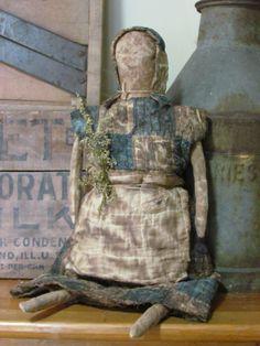 Old Primitive Doll