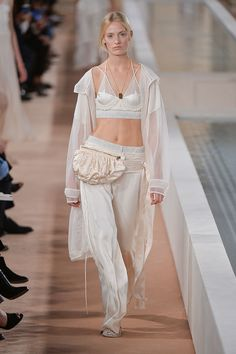 Alexander Wang's Final Balenciaga Show Spring 2016   POPSUGAR Fashion