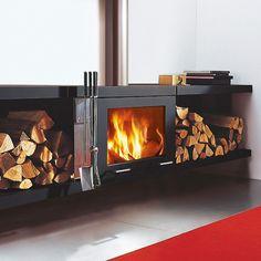 Skantherm Balance Wood Burning Wall Mounted Stove