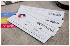 15 inspiring examples of ticket design   Graphic design   Creative Bloq