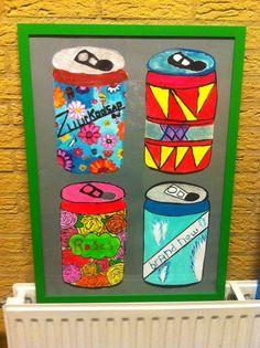 Verpakking eigen bedacht drankje ontwerpen - havo 2 Arts And Crafts, Diy Crafts, Art Lessons, Classroom Ideas, Art For Kids, Pop Art, Art Ideas, Coasters, Color Art Lessons