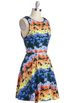Someone get this for me. I'm a really nice girl, and I'm in love. Landscape Starchitect Dress, #ModCloth