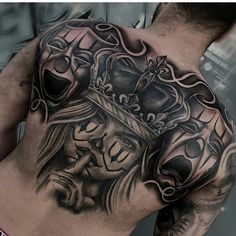 [New] The Best Tattoo Ideas Today (with Pictures) - These are the best tattoo ideas today (with pictures). According to tattoo experts, the Chicanas Tattoo, Skull Girl Tattoo, Clown Tattoo, Money Tattoo, Tattoos Skull, Dope Tattoos, Badass Tattoos, Body Art Tattoos, Ink Tattoos