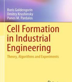 Cell Formation In Industrial Engineering PDF