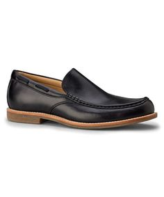 Look what I found on #zulily! Black Via Ponte Leather Venetian Loafer - Men #zulilyfinds