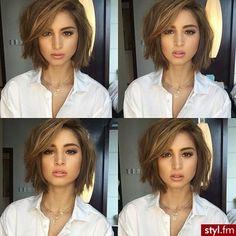 Cheveux Mi-longs : Une Nouvelle Série Qui Coupe Le Souffle | Coiffure simple et facile