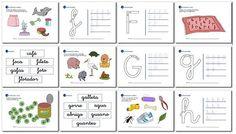 Actividades de Lectoescritura 2 Notebook, Bullet Journal, Kids, 5 Year Olds, First Grade, Activities For Kids, Preschool, Young Children, Children