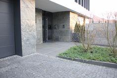 Elewacja Łupek Rok Produkcji 2012 Lokalizacja Poznań Garage Doors, Gardening, Outdoor Decor, Home Decor, Decoration Home, Room Decor, Lawn And Garden, Home Interior Design, Carriage Doors