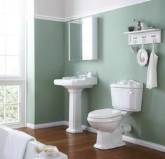 wall+colors+beach+house | best colors Best Colors For Bathroom Walls With Hanging Shelves