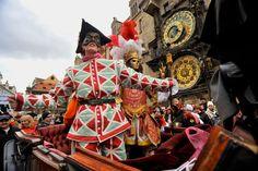 """Repubblica Ceca. Praga: a Carnevale """"Divertimento furioso"""" per grandi e piccini. http://www.familygo.eu/viaggiare_con_i_bambini/repubblica-ceca/praga/carnevale-di-praga.html"""