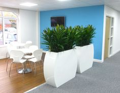 Barrier planting for offices in Derby DE1 3TQ. More ideas at www.officelandscapes.co.uk