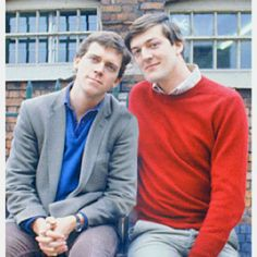 Another favourite comedy duo, Hugh Laurie (better known as House) and the magnificent Stephen Fry. They combine intelligence and weirdness in their preformances.