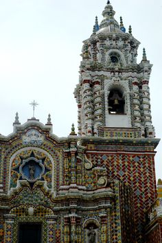 And yet more churches.  Puebla, Mexico.