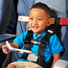 CARES - no car seat to lug around the airport/plane!! Weighs only 1 lb. and easily fits into a purse or bag!