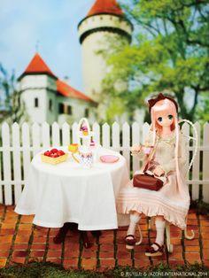 Alisa Afternoon peach tea by Azone International