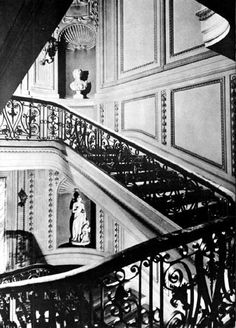 Vanderbilt Mansion (Hyde Park) | The Grand Stairway in the home McKim, Mead and White designed and built in 1896–99 for Mr. F. W. Vanderbilt.