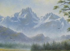 Mountain Meadow Original Oil Painting 16X20 by VickieWadeFineArt