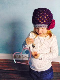 RAKJpatterns, Madison Hat Pattern, Free crochet pattern