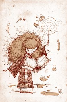 Harry Potter - Hermoine Granger by Skottie Young