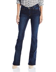 Hudson Jeans Womens Love Midrise 5 Pocket Bootcut Jean Civilian 32 * Details can be found by clicking on the image.