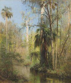Florida Landscape by Herman Herzog