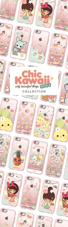 All time favourite iPhone 6 protective phone cases by @chickawaii   Click through to shop more iphone 6 phone case designs >>> https://www.casetify.com/Chickawaii/collection #quirky   @casetify