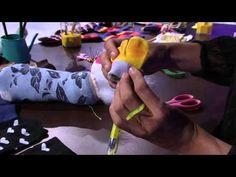 Mulher.com 30/01/2015 Sheila Abreu - Enfeites de meias para lápis Parte 1/2 - YouTube