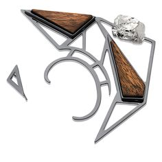 #ring #jewelry #fashion #accessories #crystal #bokd #customjewelry #statement #rhodium #raw #stone #modern #contemporary #unique #design #wearableart #urock #mariadolores #braziliandesigner #gioielli #geometric #glam #art #silver #wood #woodjewelry #earparty #trendy #esculpture #graphic #jewelery #jewel #rockandroll #rockie #rocky #edgy #style