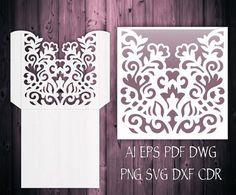 Wedding Invitation Pocket Envelope 5x7 & 5x5 от NarisariDigitalArt