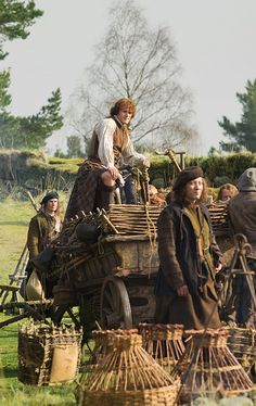 #Outlander, on the road